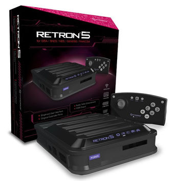 Hyperkin RetroN 5 Retro Video Gaming System - Black (New)