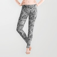Alexis  Leggings by Robin Maria Pedrero