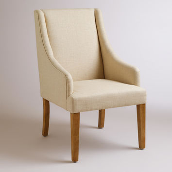 Linen Jayda Dining Chair - World Market