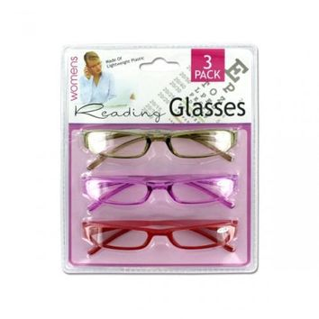 3 Pack Womens Reading Glasses (pack of 4)