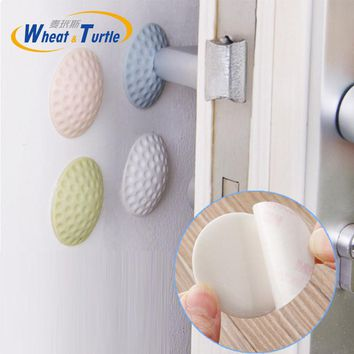 2Pcs/Lot Rubber Door Stop Stoppers Safety Keeps Doors From Slamming Prevent Finger Injuries Gates Doorways Lock Protection Child