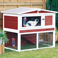 Trixie's Rabbit Hutch with Peaked Roof - Small Pet - Boutique - PetSmart