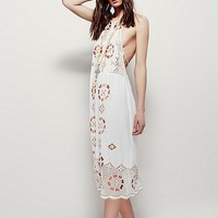 Free People Wild Worlds Midi Dress at Free People Clothing Boutique