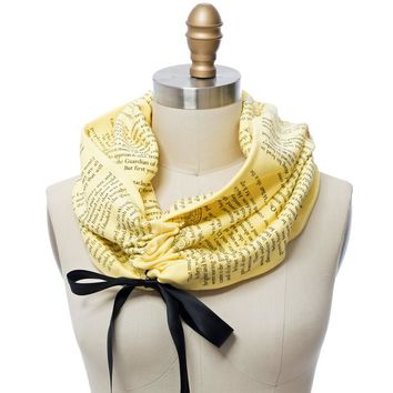 The Wonderful Wizard of Oz Ribbon Book Scarf