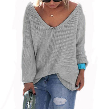 2017 Spring Autumn Women Batwing Sleeve Boho Cardigans Sweater Casual Loose Solid Color Sexy Poncho Tunic Cardigan Plus Size