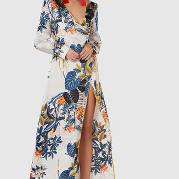 Leaf It To Me Wrap Dress