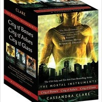 The Mortal Instruments : City of Bones; City of Ashes; City of Glass
