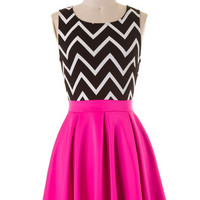 Life of the Party Dress - Fuchsia
