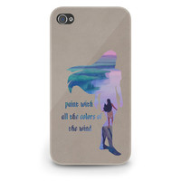 Pocahontas Quote Disney - Hard Cover Case iPhone 5 4 4S 3 3GS HTC Samsung Galaxy Motorola Droid Blackberry LG Sony Xperia & more