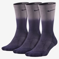 The Nike Cushion Fade Graphic Crew Socks (3 Pair).