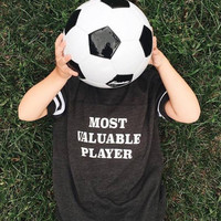 Most Valuable Player Kids Football Shirt