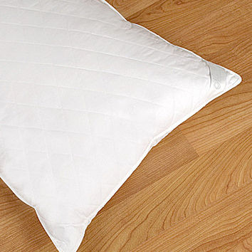 Nobility Quilted Crushed Goosefeather Bed Pillow