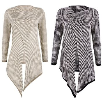Cardigan Loose Long Sleeve Knitted
