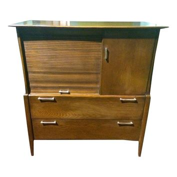 Pre-owned Heywood Wakefield Prophecy Highboy Dresser