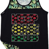 Keep One Rolled Unisex Tanktop