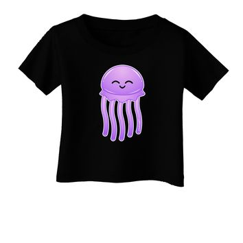 Cute Jellyfish Infant T-Shirt Dark by TooLoud