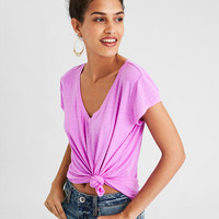 AE Soft & Sexy V-Neck, Bright Violet