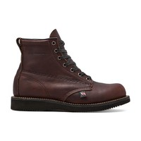 "Broken Homme James 7"" Boot in Burgundy"