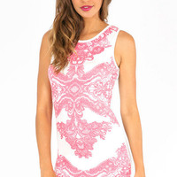 Ella Printed Bodycon Dress $44