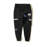 With Pocket Casual Cotton Pants [9302715783]