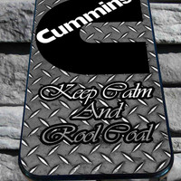cummins diesel cute for iPhone 4/4s/5/5S/5C/6, Samsung S3/S4/S5 Unique Case *95*