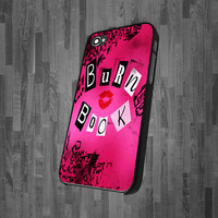 Pink Mean Girls Burn Book CA 0659   iPhone 4 iPhone by icasestudio