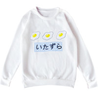 TRIPLE EGG SWEATER