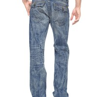 True Religion Ricky Straight Mens Jean - Mystic Poolside