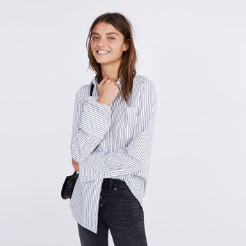 Bristol Button-Down Shirt in Stripe