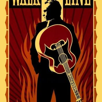 Walk the Line 27x40 Movie Poster (2005)