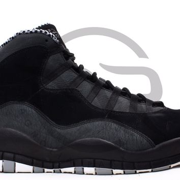 QIYIF AIR JORDAN RETRO 10 - STEALTH