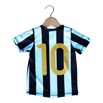 Juventus Scudetto 10 Toddler Soccer Sublimated Jersey