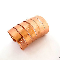 Wonder woman copper armband, super tall hammered copper cuff, very wide copper cuff