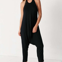 Silence + Noise Asa Backless Halter Jumpsuit - Urban Outfitters