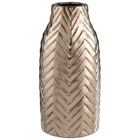 Large Herringbone Vase by Cyan Design