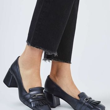 JUSTIFY Fringe Loafers - Shoes
