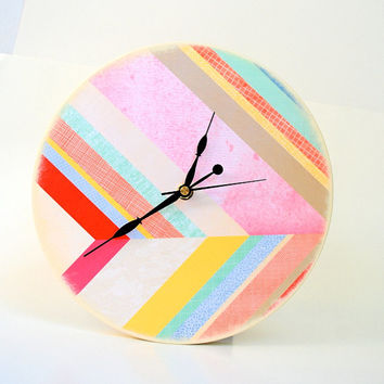 Right Place At The Right Time - Wood Wall Clock