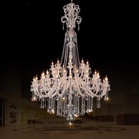 High Ceiling Chandelier Home Design Ideas Ceiling Mount Chandeliers high quality art glass chandelier hotel project lamps lustre