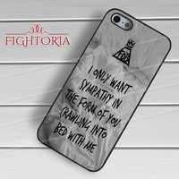FOB Fall Out Boy Lyrics Quotes - zzD for  iPhone 6S case, iPhone 5s case, iPhone 6 case, iPhone 4S, Samsung S6 Edge