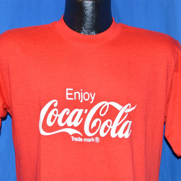 1987 NEW Enjoy Coca-Cola Enjoy Good Samaritan Run t-shirt Medium