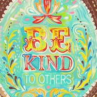 Be Kind by thewheatfield on Etsy