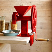 Hand Crank Burr Grinder Grain Mill & Clamp