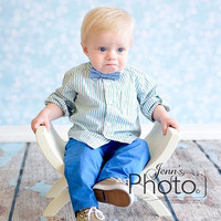 PJ's Curved Bench Prop Newborn Infant Toddler small child Bench Props