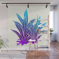 Tropic Violet #society6 #buyart #decor Wall Mural by mirimo