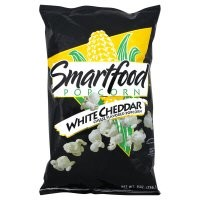Smartfood Popcorn, White Cheddar Cheese, 9 oz, (pack of 3)