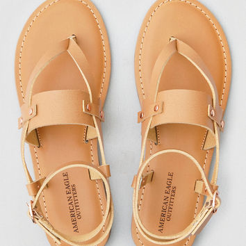 AEO Studded Sandal , Natural