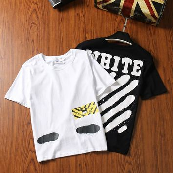 Short Sleeve Summer Cotton T-shirts [429904363556]