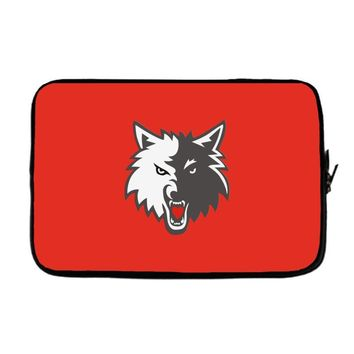 KING OF THE WOLF Laptop sleeve