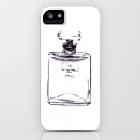 Chanel No 5 iPhone & iPod Case by Alicia Evans