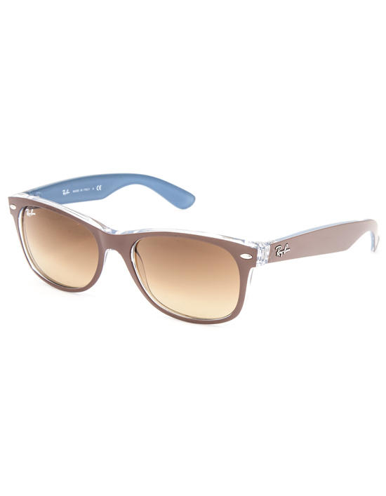 77408b6557 Ray-Ban New Wayfarer Color Mix Sunglasses Brown Blue One Size For Men  27202493901
